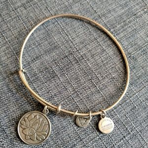 Alex & Ani Lotus Peace Petel Bracelet